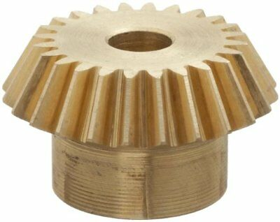 "Boston Gear G487Y-P Bevel Pinion Gear, 2:1 Ratio, 0.250"" Bore, 24 Pitch, 24"
