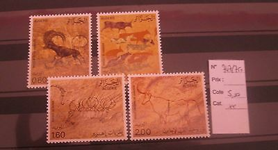 Algerie Timbres N°747/750 Neufs**