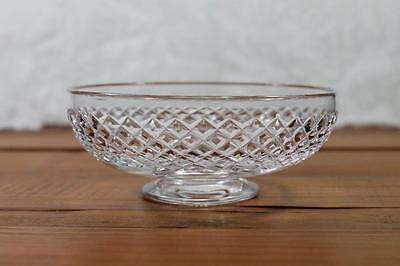 Vintage Stuart Crystal Sweet or Nut Dish - Signed Footed - Lolly Bowl