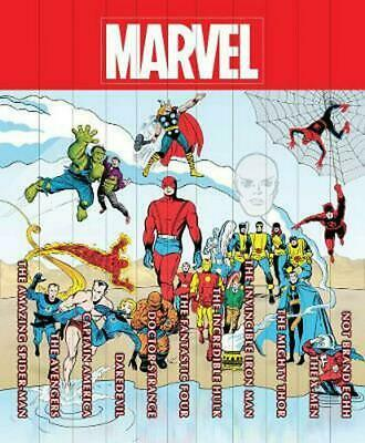 Marvel Famous Firsts: 75th Anniversary Masterworks Slipcase by Stan Lee (English
