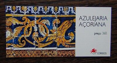 Azores 1994 Tiles Booklet MNH