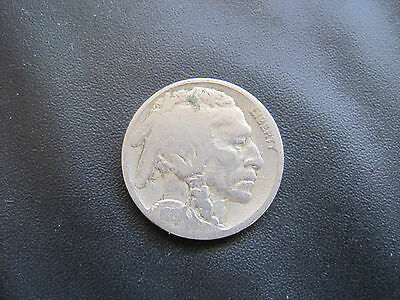 1919 Usa United States Buffalo Indian Head 5 Cents Coin
