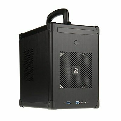 Lian Li PC-TU100B Black ITX Case - USB 3.0