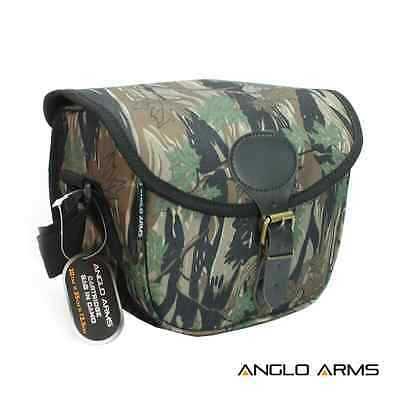 Camo Cartridge Bag With Shoulder Strap Hunting Shooting Game Clay Pigeon Bag
