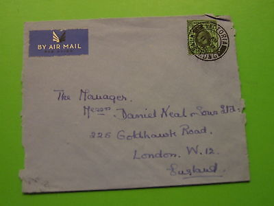 Cover Hong Kong To England 1928 ? .. ..  See Postage Offer