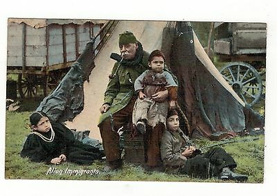 Alien Immigrants.1905 Old Printed Postcard