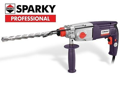 Sparky Heavy Duty BPR261E SDS+ Drill + FREE Turptech HD TCT Brick Removal Chisel