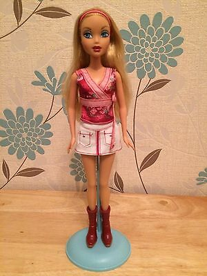My Scene Kennedy Heartbreakers Barbie Doll Mattel Very Rare 2 Outfits