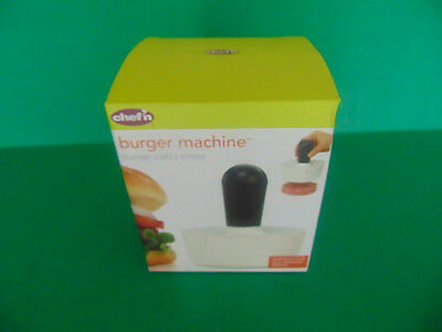 BURGER MACHINE Burger Patty Press By Chef'n All Ground Meats NEW