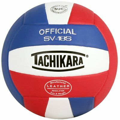 Tachikara Sv18s Composite Leather Volley Ball All Colors
