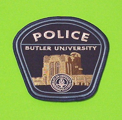 Butler University  Indianapolis  Indiana  In  Police Patch   Free Shipping!!!