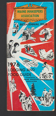 Maine Innkeepers Association 1976 Lodging & Food Guide