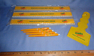 Mello Yellow Advertising Items -- Lot