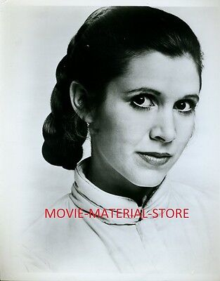 Carrie Fisher Star Wars The Empire Strikes Back 8x10 Studio Copy Photo #L3536