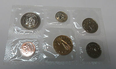 Canada Kanada Kms Mint Coinset 1994 1 5 10 25 50 Cent - 1 Dollar Pl Proof Like