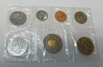 Canada Kanada Kms Mint Coinset 1998 1 5 10 25 50 Cent 1 + 2 Dollar Pl Proof Like