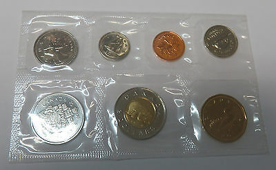 Canada Kanada Kms Mint Coinset 2000 1 5 10 25 50 Cent 1 + 2 Dollar Pl Proof Like