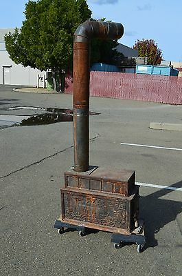Vintage REGENCY Cast Iron  Wood Burning Stove made in Taiwan . Pickup Only!!!
