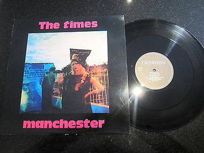 "The Times ""manchester"" 1990 Creation Records 12"""