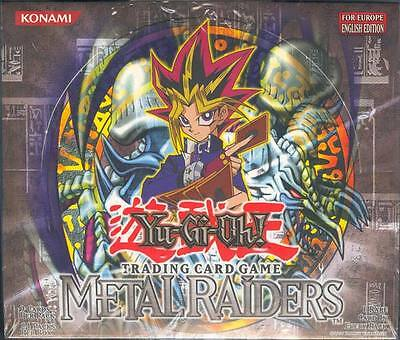 Yugioh Metal Raiders Unlimited Booster Euro English Box Blowout Cards