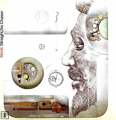 Thelonious Monk Straight No Chaser Lp Vinyl 33Rpm New