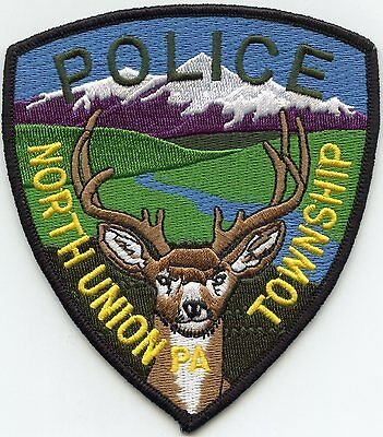 North Union Township Pennsylvania Pa Police Patch