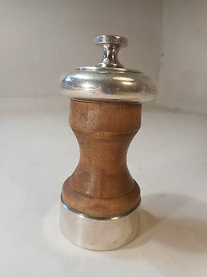 Silver mounted Pepper Mill   ref 1886