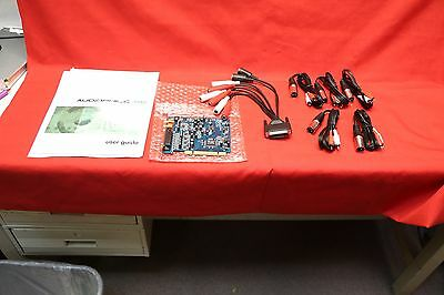 M-Audio Delta Audiophile PCI (DELTA Audiophile 192) Sound Card w breakout cables