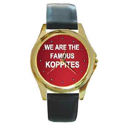 **new* We Are The Famous Koppites Liverpool Round Wristwatch **lovely Item**