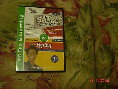 SAT & ACT/Mavis Beacon Teaches Typing (CD Software, 2002) from The Princeton Rev