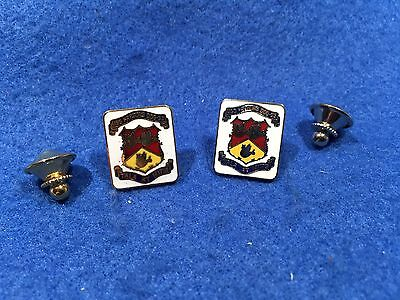 Lot of 2 1970's Vintage US Navy USS Parsons DDG-33 Pins