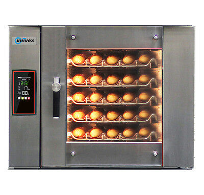 Univex ECO5000 Electric Bakery Convection Oven w/ (5) Tray Capacity