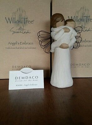 Willow Tree by Susan Lordi ANGEL'S EMBRACE Demdaco