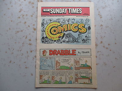 Sunday Newspaper Comics in Comic Book Size - 24 Pages From 1985