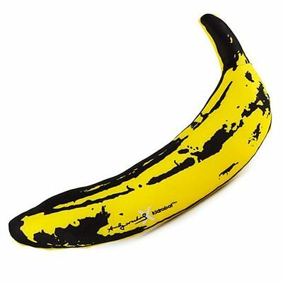 Andy Warhol Large 14-Inch Yellow Banana Plush - Velvet Underground -