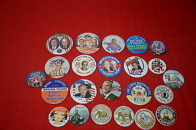 PCEPL George Bush Dick Cheney 2004 States Buttons Presidential Pins    1344