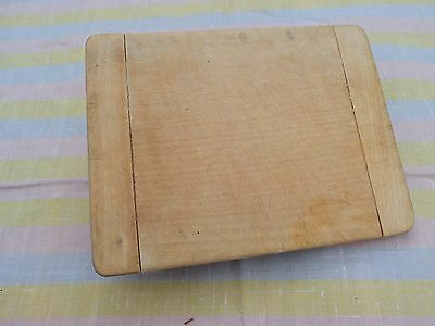 Vintage Small Rectangular Shabby  Wooden Bread Board