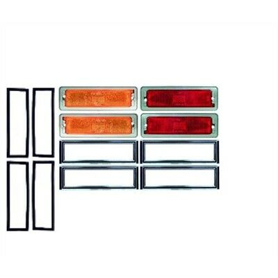 Reproduction Side Marker Lights for 1970-74 Nova, 4-Piece Kit