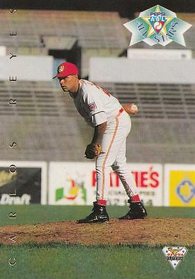 Futera ABL Australian Baseball League 1994 All Stars Carlos Reyes #128