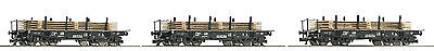 "Roco TT 37591 Heavy Goods Wagon Set the DR 3-piece "" novelty 2016"""
