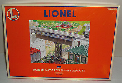 Lionel O Trains 6-12968 Right-Of-Way Girder Bridge Building Kit -New In Open Box