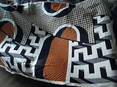Large 1970s Vintage Heals Fabric. Intermesh by Barbara Brown 1973. STILL ON ROLL