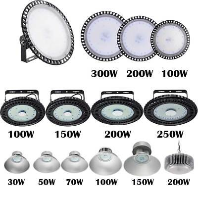 LED 100W High Bay Warehouse Light Bright White Factory Industry Shop Lighting