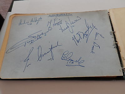 Vintage Football Autographs Oldham Athletic  Early1950Sfrom Autographbook