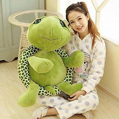 NEW Plush Green Turtle Giant Large Stuffed Soft Plush Toy Doll Pillow 30-63cm