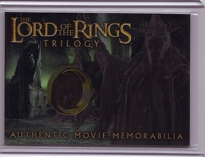 LOTR Lord Of The Rings Trilogy chrome The Witch-King's robe costume card #11