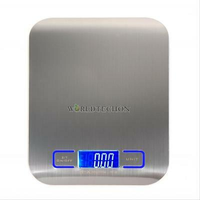 Stainless Steel  LED Kitchen Scale Cooking Measure Electronic Weight Scales Tool
