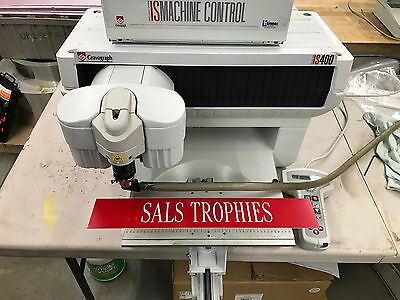 2006 Gravograph IS400 Engraving Machine Engraver New Hermes Refurbished