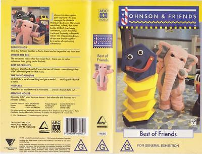Johnson And Friends Best Of Friends Vhs Video Pal~ A Rare Find~
