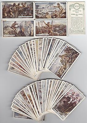 Cigarette Cards Wills Vc's Full Set Of 50